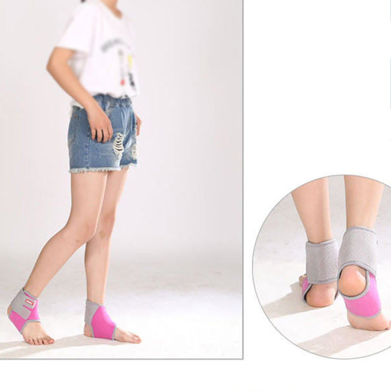 Adjustable Ankle Brace For Kids Breathable Neoprene Compression Ankle Support Stabilizer for Ankle Sprain Tendons Sports M