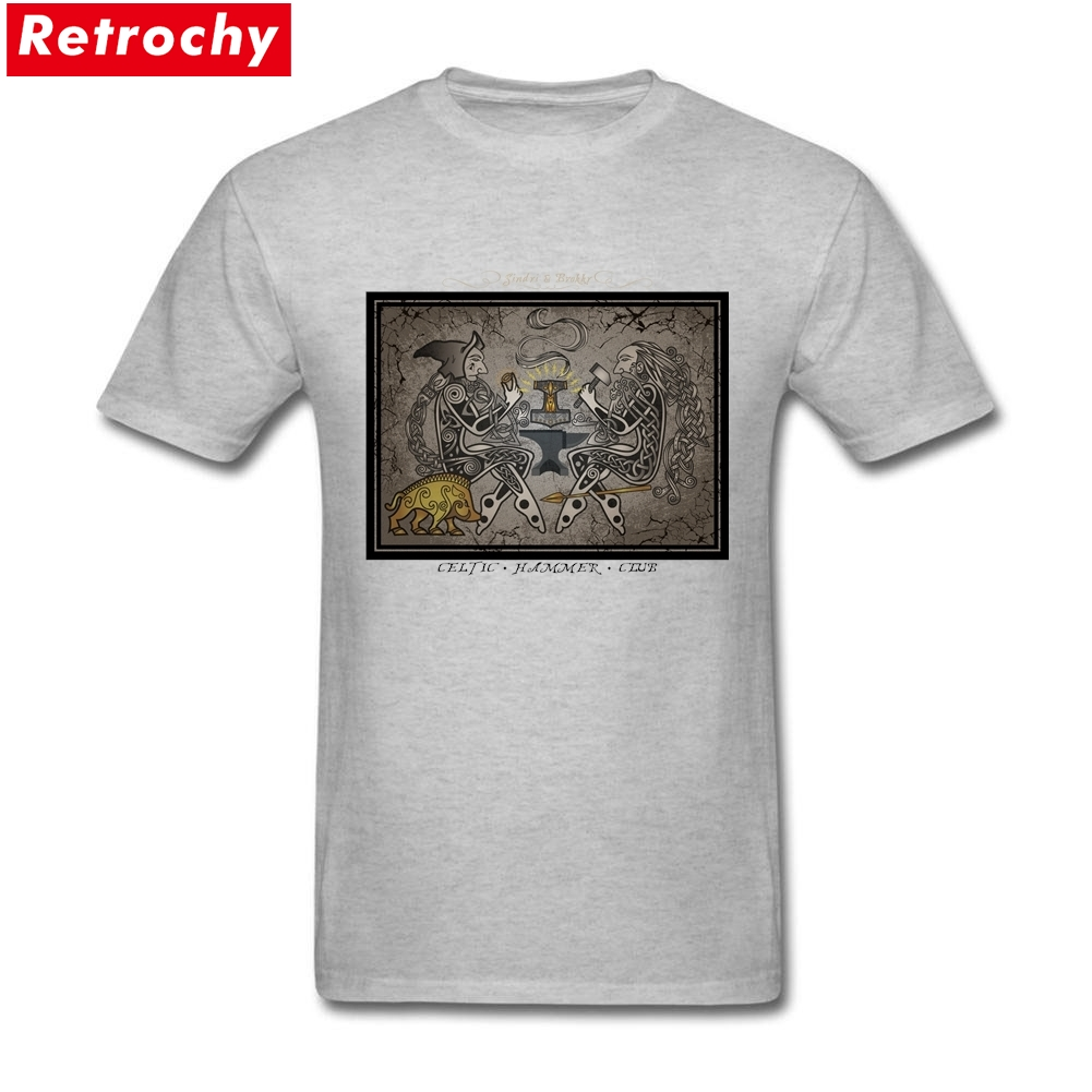 83c6abbb69b Forging Thor s Mighty Weapon Buy Online T Shirts Customised T Shirts Mens  Cotton Short Sleeve Big Size