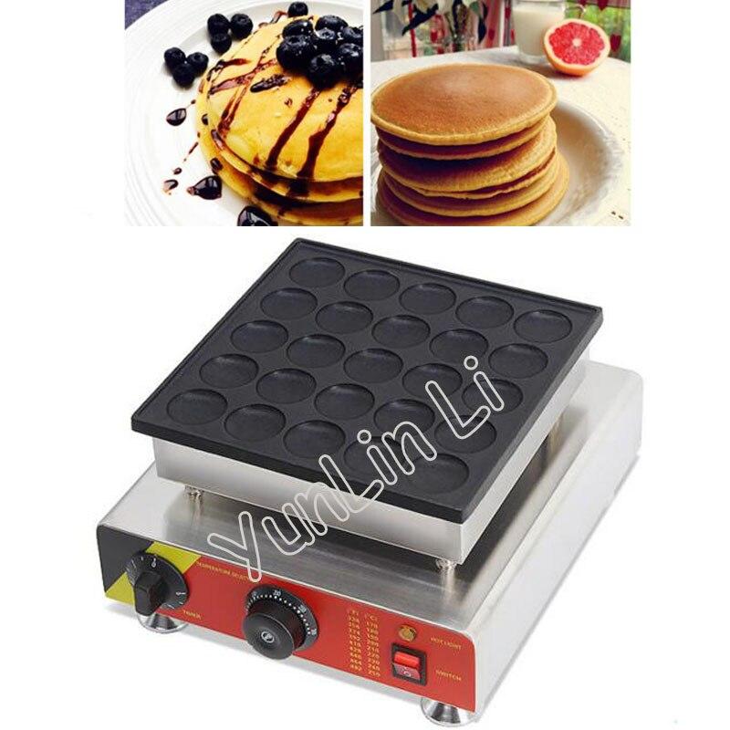Dutch Muffin Machine 220V/110V 25 Holes Waffle Maker Commercial Copper Simmering Machine Nestle Furnace Muffin Machine NP 542