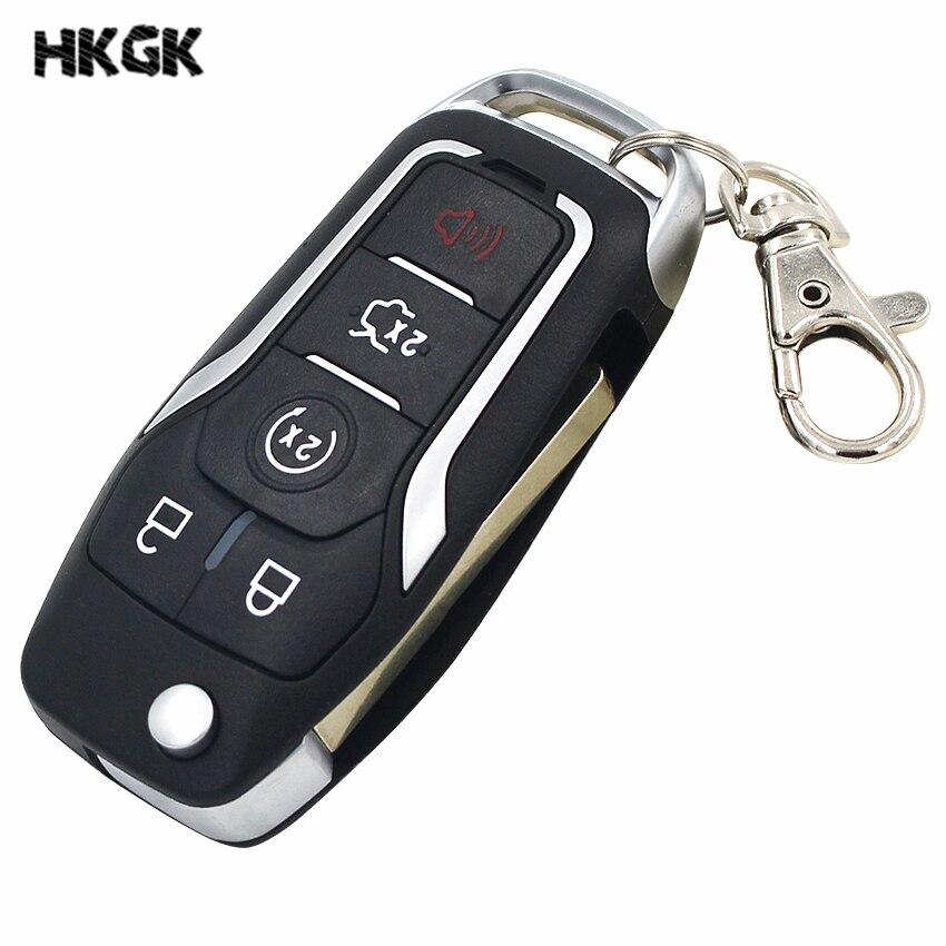 Flip-Keyless-Entry-Modified-Folding-Remote-Key-4-1-5-Button-Smart-Car-Key-Fob-433MHZ
