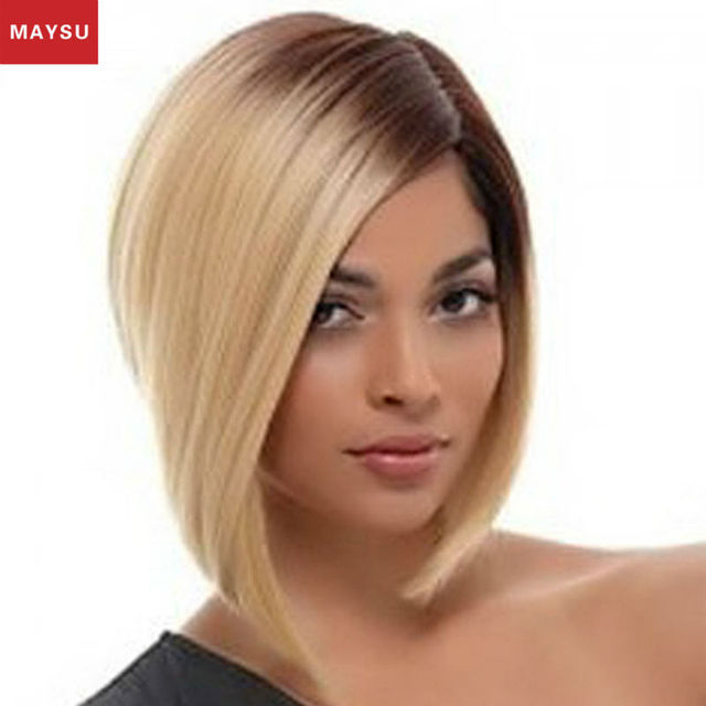 Maysy Prevailing Long Synthetic Wigs For Black Women Synthetic Bob