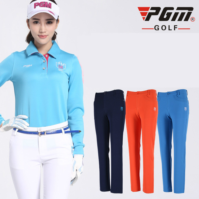 2018 New pgm products style ladies long trousers Breathable Slim High elastic pants for women size XS-XL