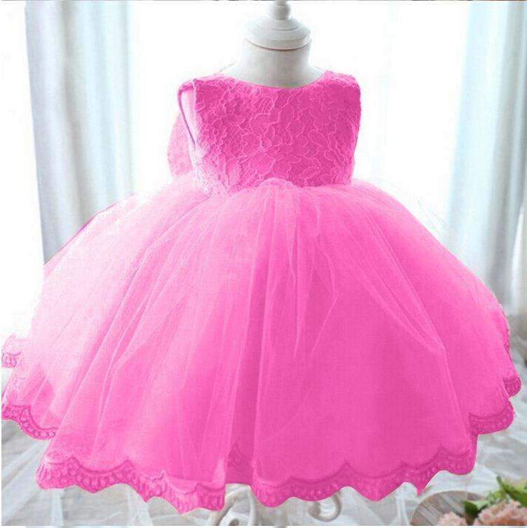 2018 nueva princesa vestido para niñas bebé niños ropa de boda ...