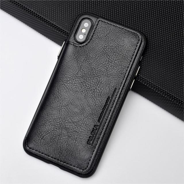 Rocketek luxury pu leather Case For iPhone X XR Multifunction card pocket Holders Phone Case For iPhone Xs max 7 8  6 6s Plus