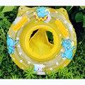 1 UNIDS Encantadora Niños que Nadan el Anillo Inflable Suave Asas de Ayuda de Seguridad Del Niño Del Bebé Azul/Rosa Claro Flotador Nadada Del Asiento anillo