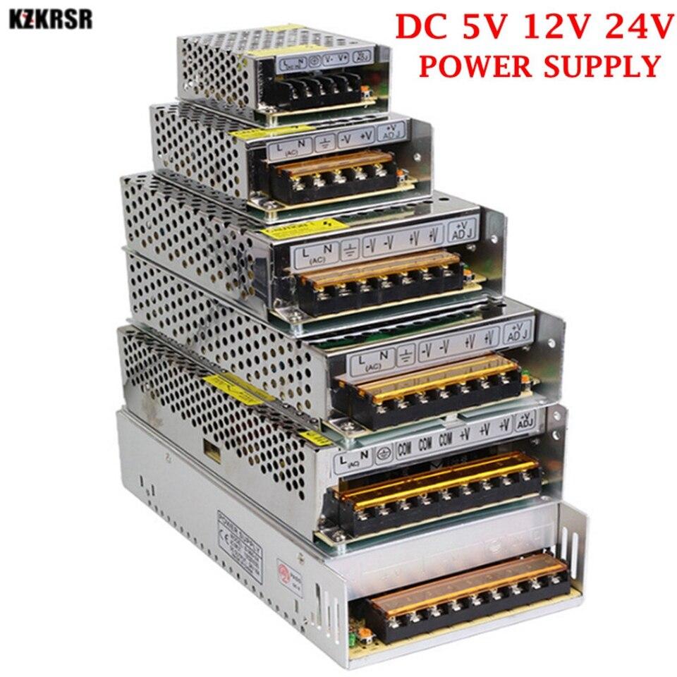 1PCS LED Power Supply 12V 24V CE ROHS AC110V/220V TO DC5V 12V 24V Aluminum Shell LED Driver 12V Driver For Leds Power Supply 12V