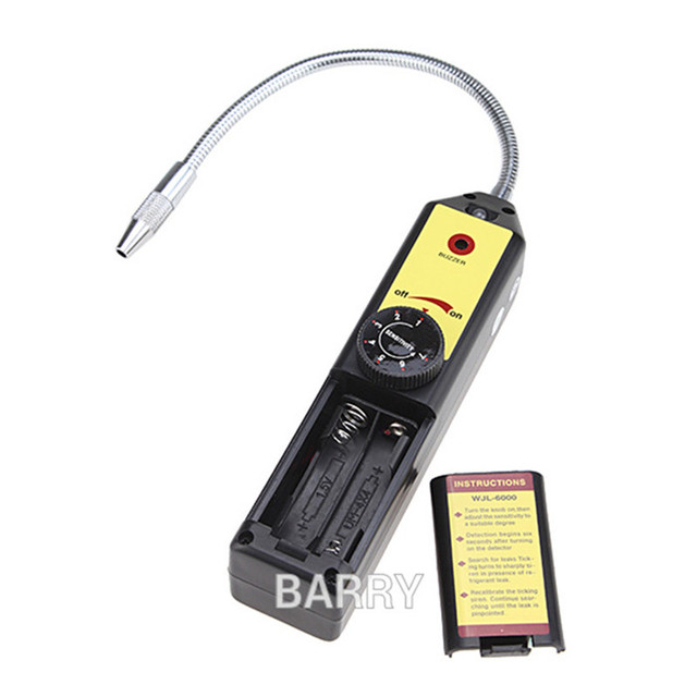 Gas Leak detector Leakage detection Freon Analyzer CFC HFC Halogen Gas Refrigerant Tester scanner Air Conditioning R22a R134a 5