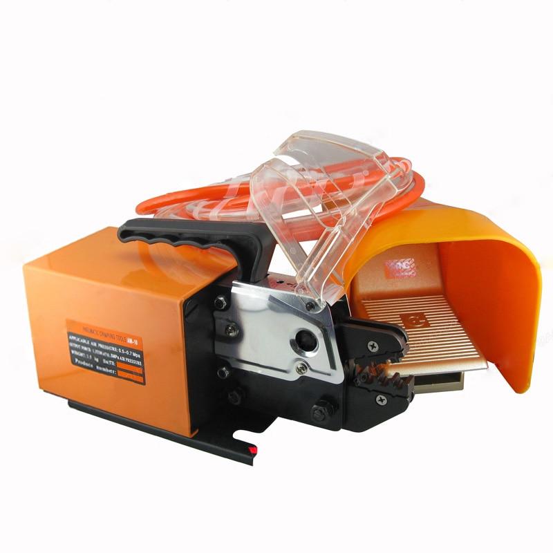 1 шт. Пневматический обжимной машины для виды терминалы со сменными штампов, Пневматический обжимной инструмент