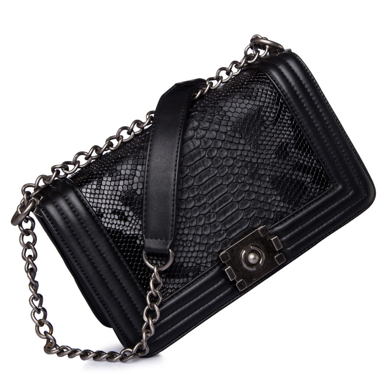 Golden Finger Brand Woman Crossbody Bag Promotional Ladies Totes luxury PU Leather Handbag High Chain Ladies Messenger Bag