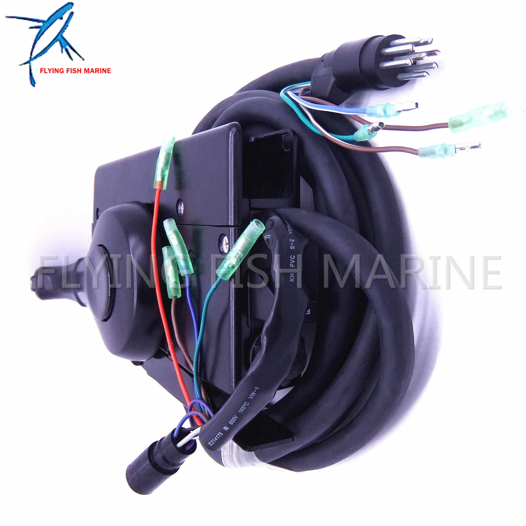 boat motor side mount remote control box 881170a15 with 8 pin for mercury  outboard engine pt