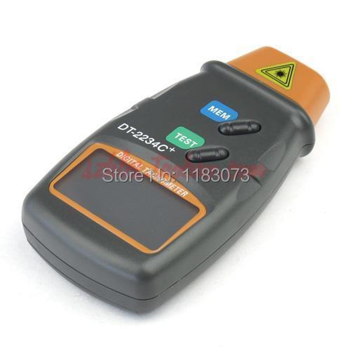 Contagiri laser digitale 2.5-100000 RPM Contagiri elettronico per - Strumenti di misura - Fotografia 2