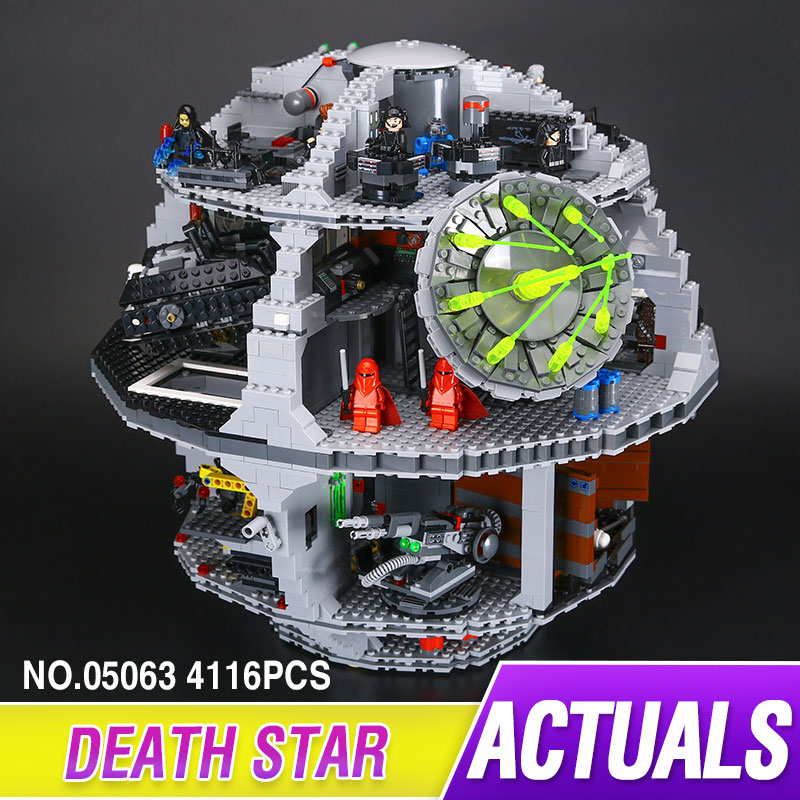 Lepin 05063 4116Pcs Genuine Star Series Wars UCS Death of Star Lepin Building Bricks Educational Toys for children legoed 79159 конструктор lepin star plan большая звезда смерти 4116 дет 05063