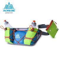 AONIJIE Marathon Outdoor Men Women Waist Packs   Running   Water Belt Fanny Pack Hydration Belts Bottle Holder