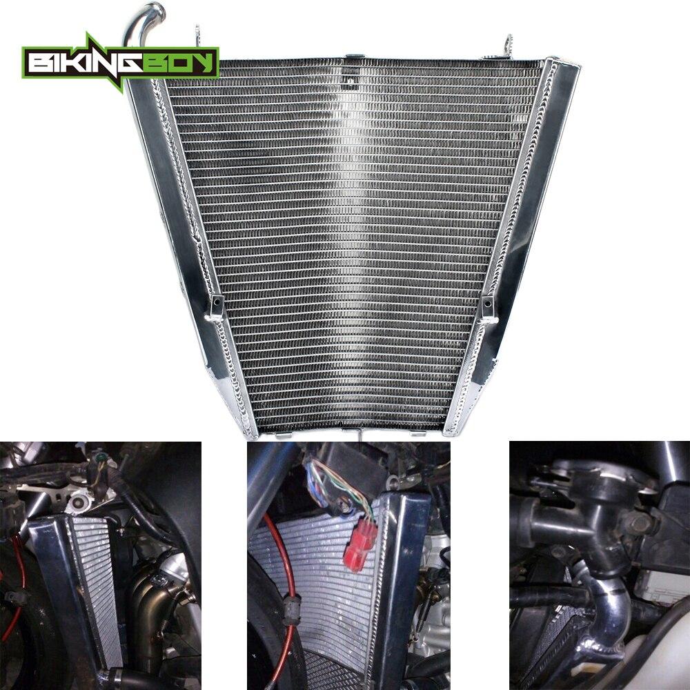 BIKINGBOY radiateur de refroidissement moteur pour HONDA CBR1000RR CBR 1000 RR Fireblade 2004 2005 04 05 noyau en Aluminium RR4 RR5 refroidisseur d'eau