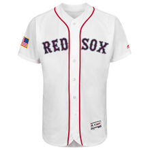 MLB MLB Men s Boston Red Sox Baseball White Stars Stripes Flex Base Jersey 72268888f