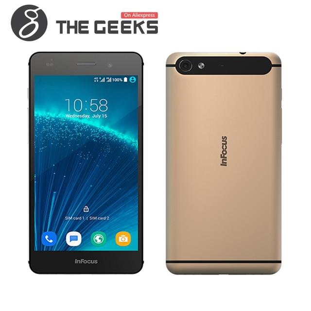 "Оригинальный Infocus M560 MTK6753 1.3 ГГц Octa Ядро 5.2 ""IPS FHD Экрана 1920*1080 2 ГБ RAM 16 ГБ ROM 13MP Android 5.1 4 Г LTE Смартфон"