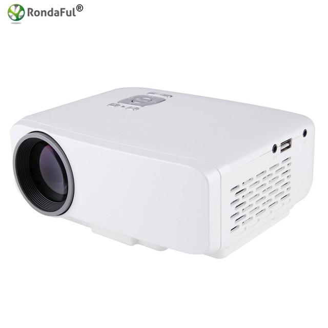 Original GP9S LED Mini Pico Projector Portable AV IN/SD/USB/VGA/HDMI Home Theater 800*480 800Lumens Multimedia Beamer