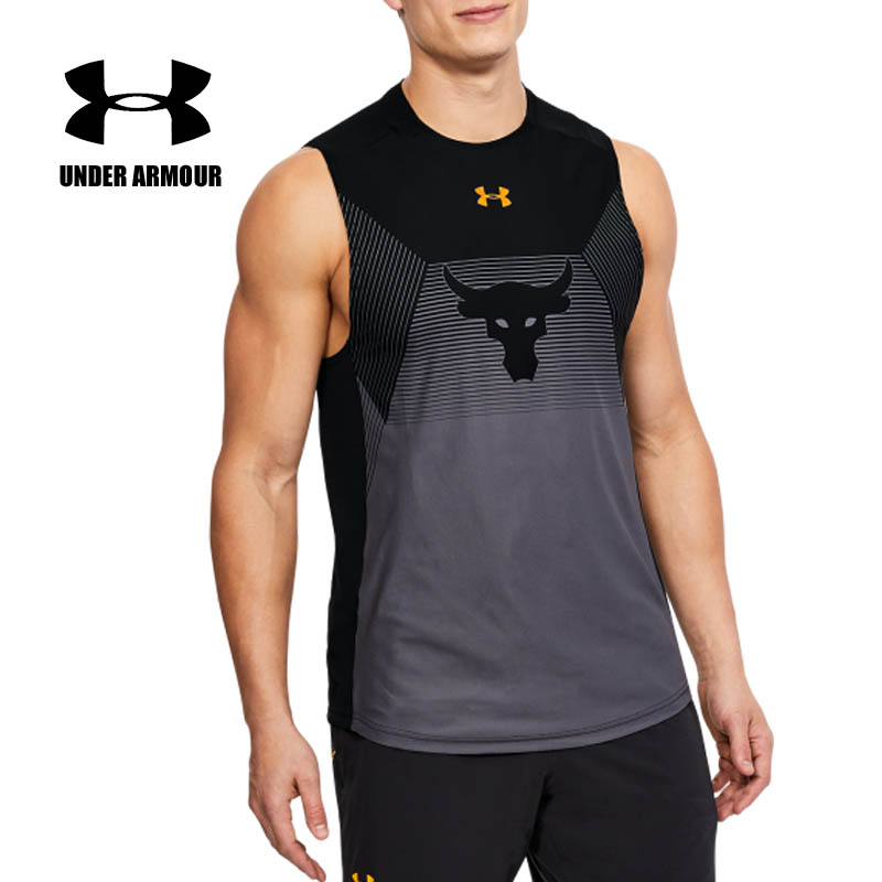 presenting buying now various colors Under Armour rock shirts Fitness tactical Vest summer Men's ...