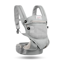 Hipseat for Newborn and Prevent O-type Legs Style Loading Bear 24Kg Ergonomic Baby Carriers Kid Sling bebear hipseat for prevent o type legs new aviation aluminum 6 in 1 carry style load 20kg ergonomic baby carriers kid sling