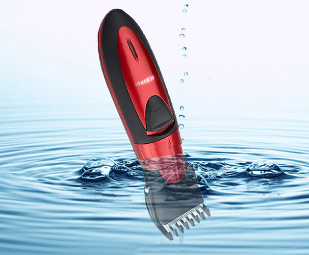 Hot sales Waterproof electric hair clipper razor, child baby men electric shaver hair tr ...