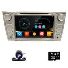 Estéreo del coche para TOYOTA CAMRY 2 din coche reproductor de dvd de navegación gps 8 pulgadas de pantalla táctil de coches radio cd dvd reproductor de audio bluetooth usb