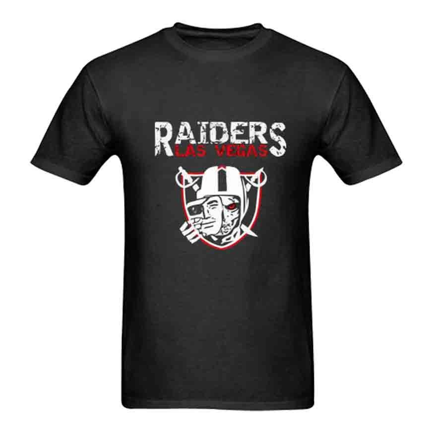 New Raiders Las Vegas T-shirt Tee New Mens Tshirt Size S to 3XL ...