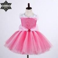Princess Tutu Fancy Sleeping Beauty Girl Dress Cute Tutu Dress Kids Christmas Halloween Cosplay Costume Girl