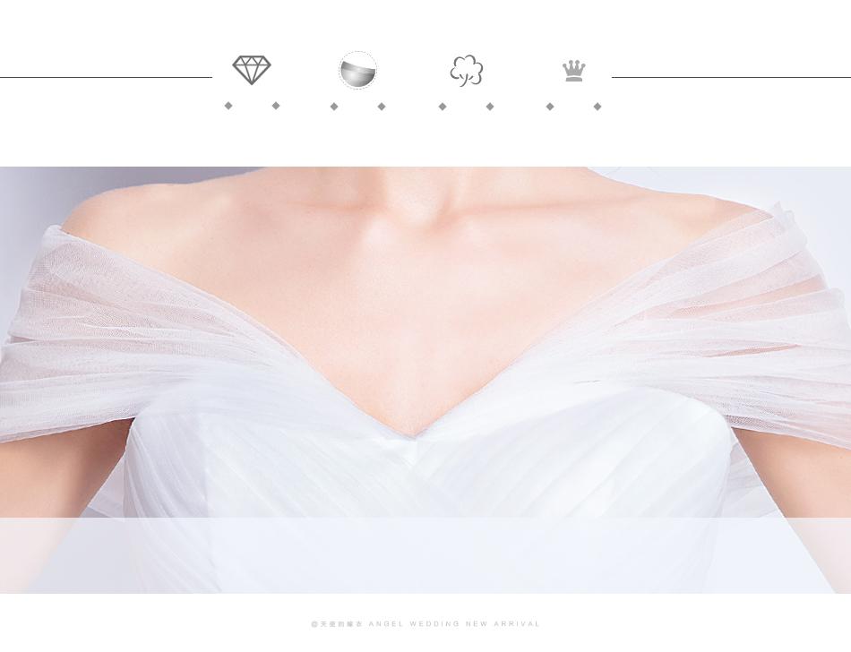 Angel Wedding Dress Marriage Evening Bride Party Prom Bridal Gown Vestido De Noiva 2017 Boat Neck asymmetrical7207 7