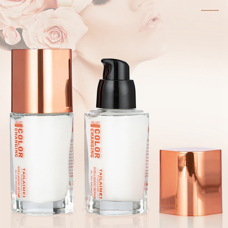 Rcommend Color Changing Foundation Makeup Base Nude Face Liquid Cover Concealer Makeup Skin Pro Cosmetics image