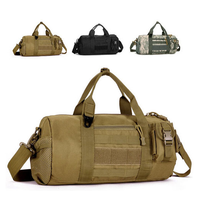 D5Column Outside Camouflage Drum Bags Men's Travel handbag U.S Gear Military Tactics Messenger Bag Portable Bags Man Pouch
