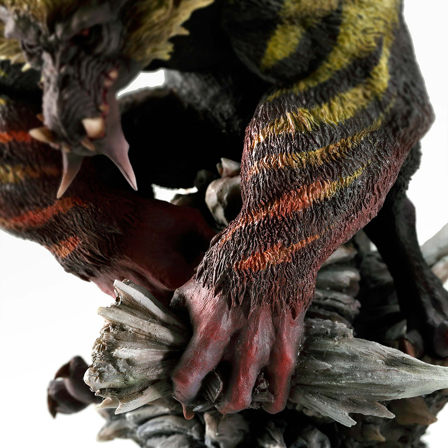 Monster Hunter World Monsters Figure Action Model Toys Rajahn Dragon Collections - 5
