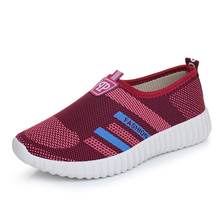 Women's Casual Slip on Loafers Cotton Breathable Ladies Flat Platforms Woman Soft Comfort Walking Driving Shoes Zapatos Mujer