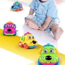 Детские головоломки Дети милые Мультяшные игрушки животные собака заводные игрушки бегущий автомобиль заводная классическая игрушка для собак
