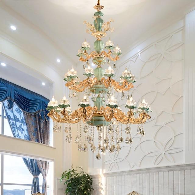 30 lights candelabra chandelier