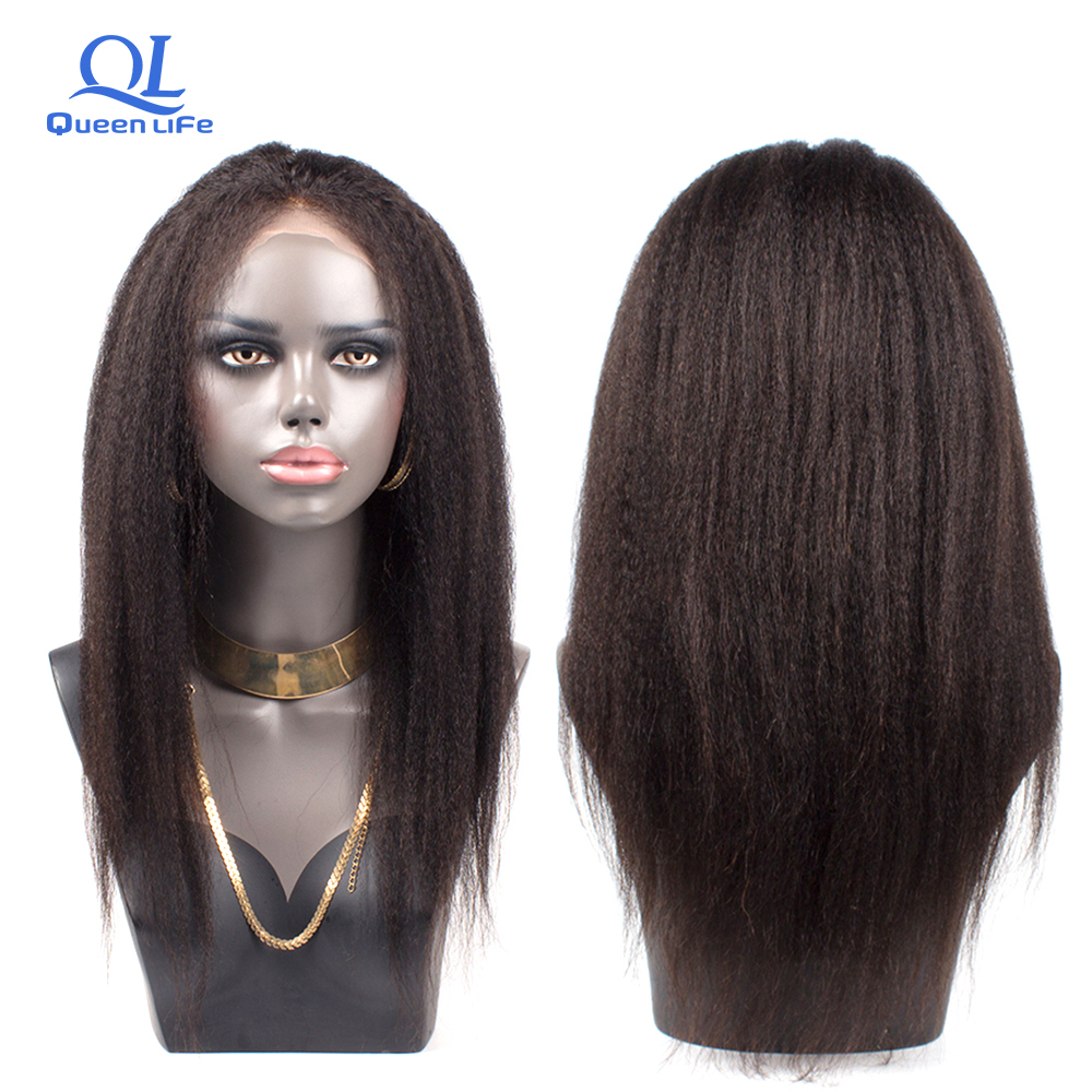 Sapphire Glueless Human Hair Wigs With Bangs For Black Women Remy Brazilian Human Hair Lace Front Wig Pre Plucked Bang Good Taste Human Hair Lace Wigs