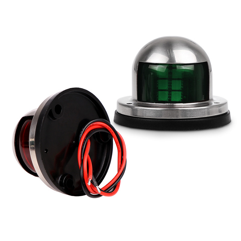 Image 5 - 1 Pair 12V LED Sailing Signal Lamp Red Green Starboard Light Port Light for Marine Boat Yacht-in Marine Hardware from Automobiles & Motorcycles