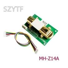 אינפרא אדום פחמן דו חמצני חיישן מודול CO2 MH Z14A סידורי יציאת PWM אנלוגי פלט 0 5000ppm ספוט