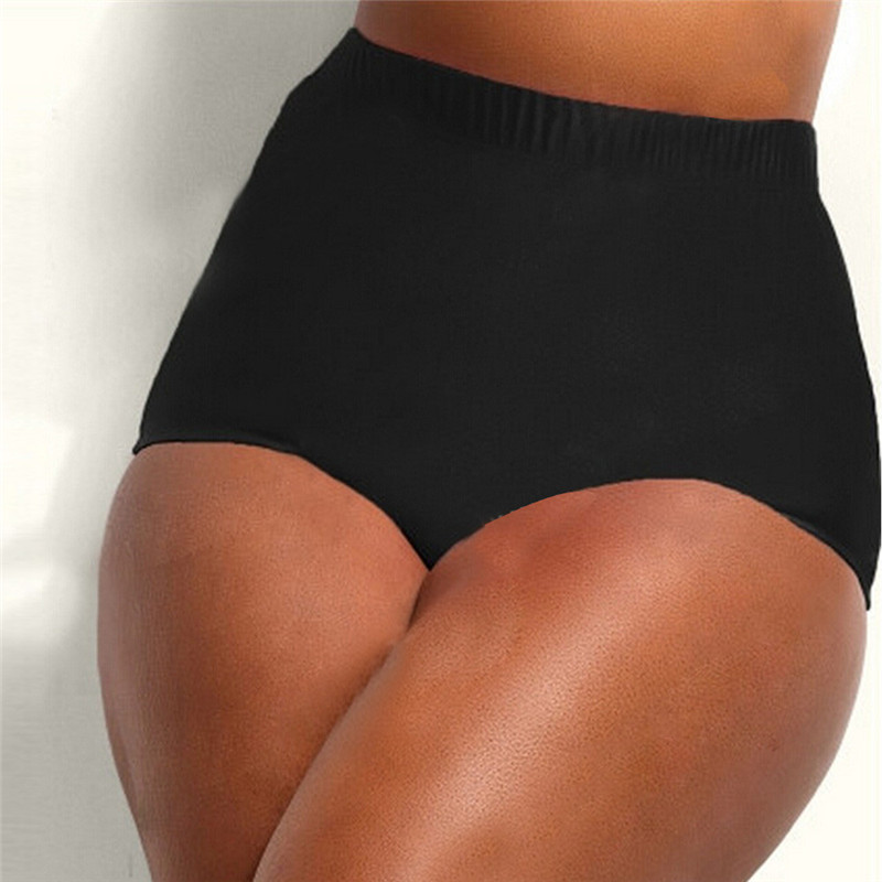 3ed1bf9dfce US $5.02 27% OFF|Bikini Bottoms Swimwear Ladies High Waisted Bikini Tankini  Bottoms Swim Briefs Swimming Pants Bathing Brazilian Bottom Badpak-in ...