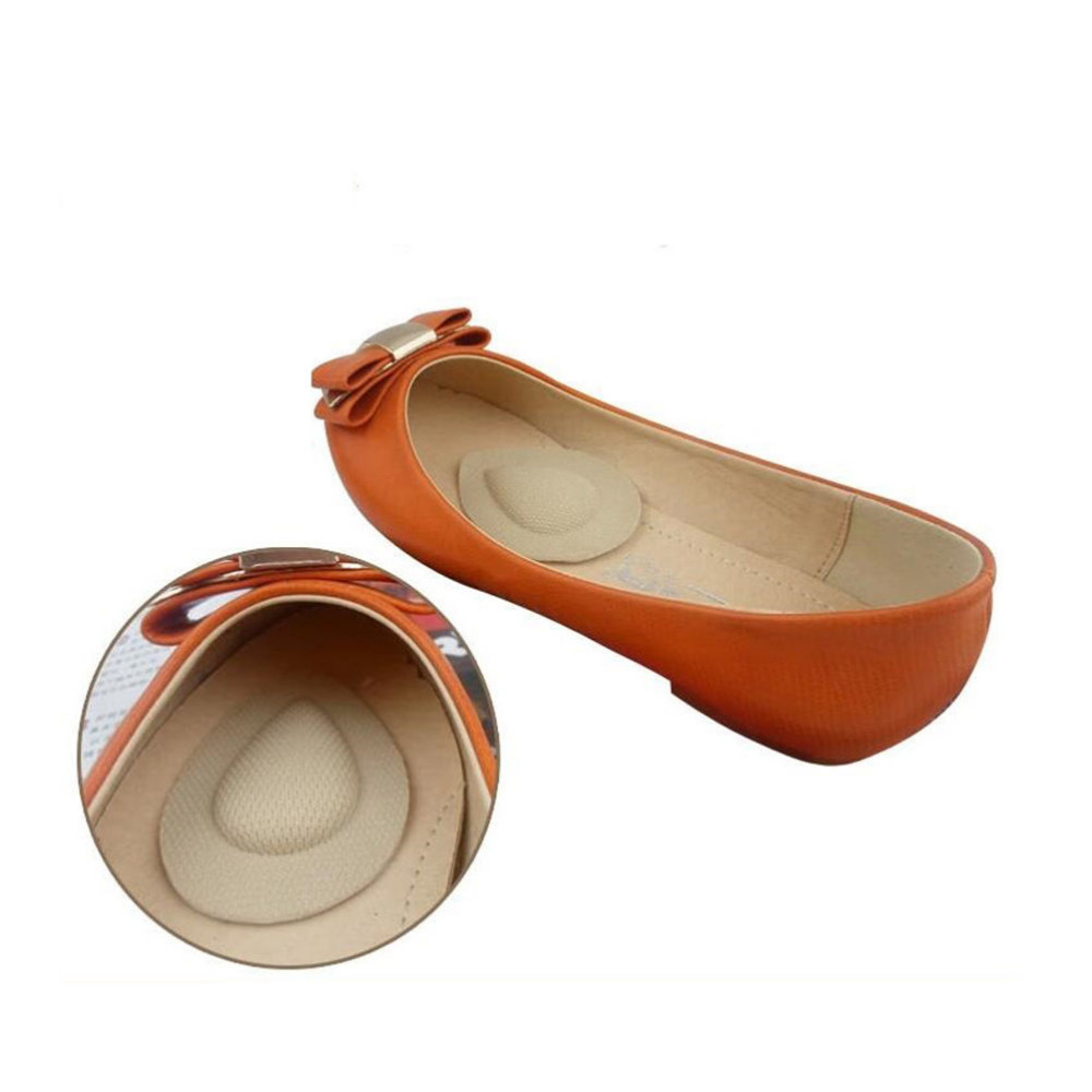 1Pair High Heel Elastic Feet Palm Care Pads Feet Care Tool Skin Color Women Water Drop Forefoot Shoe Insole stylish solid color suede women s narrow feet pants