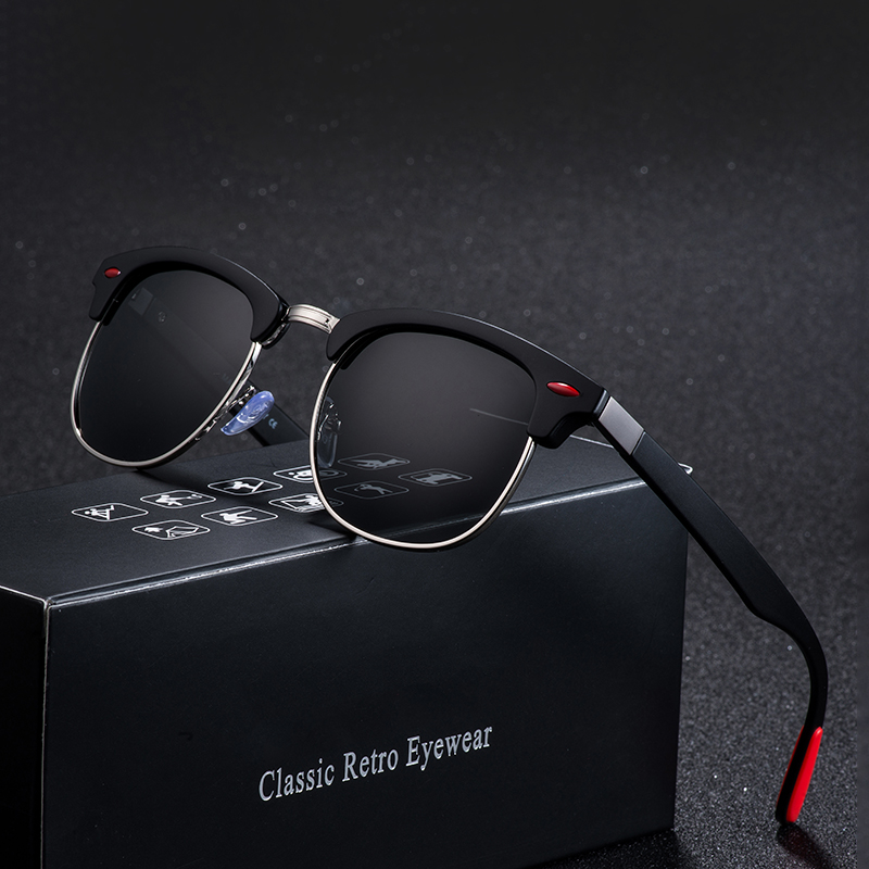 Mens Polarized Sunglasses Classic Box Sunglasses Mens Sunglasses Snowlily Sunglasses