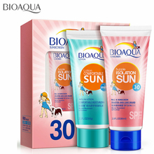 Moisturizing UV Radiation Sun Protection Face Cream Protetor Solar Sunscreen Sunblock Lotion Spf 30 Block