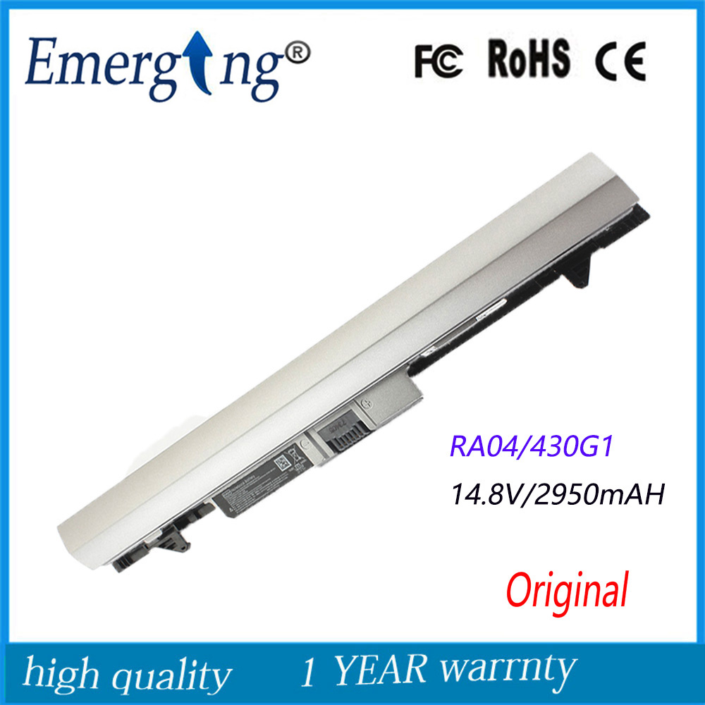 New Original Laptop Battery for HP ProBook 430 430 G1 G2 H6L28AA H6L28ET HSTNN-IB4L RA04