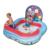 157*157*91 cm quadrado bebê piscina criança grande bola cheia de ar inflável slide piscina inflável criança bebê banho