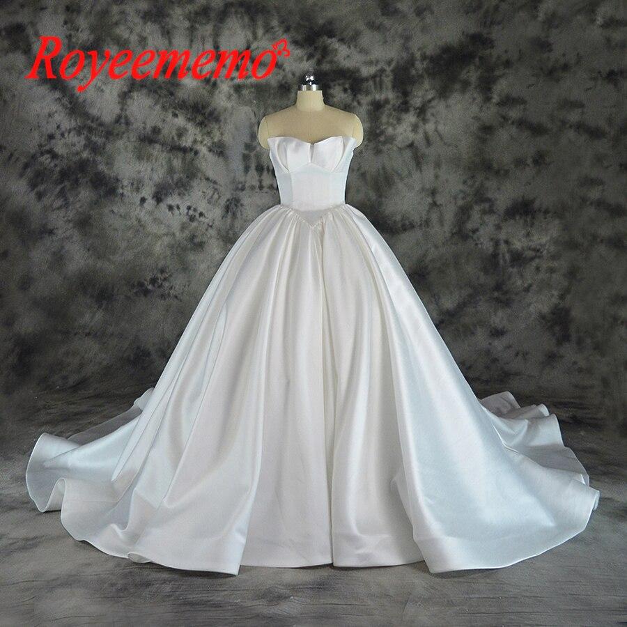 Us 275 0 Vestido De Noiva Mewah Satin Bola Gaun Pernikahan Gaun Desain Klasik Gaun Pabrik Yang Membuat Harga Grosir Gaun Pengantin Di Wedding