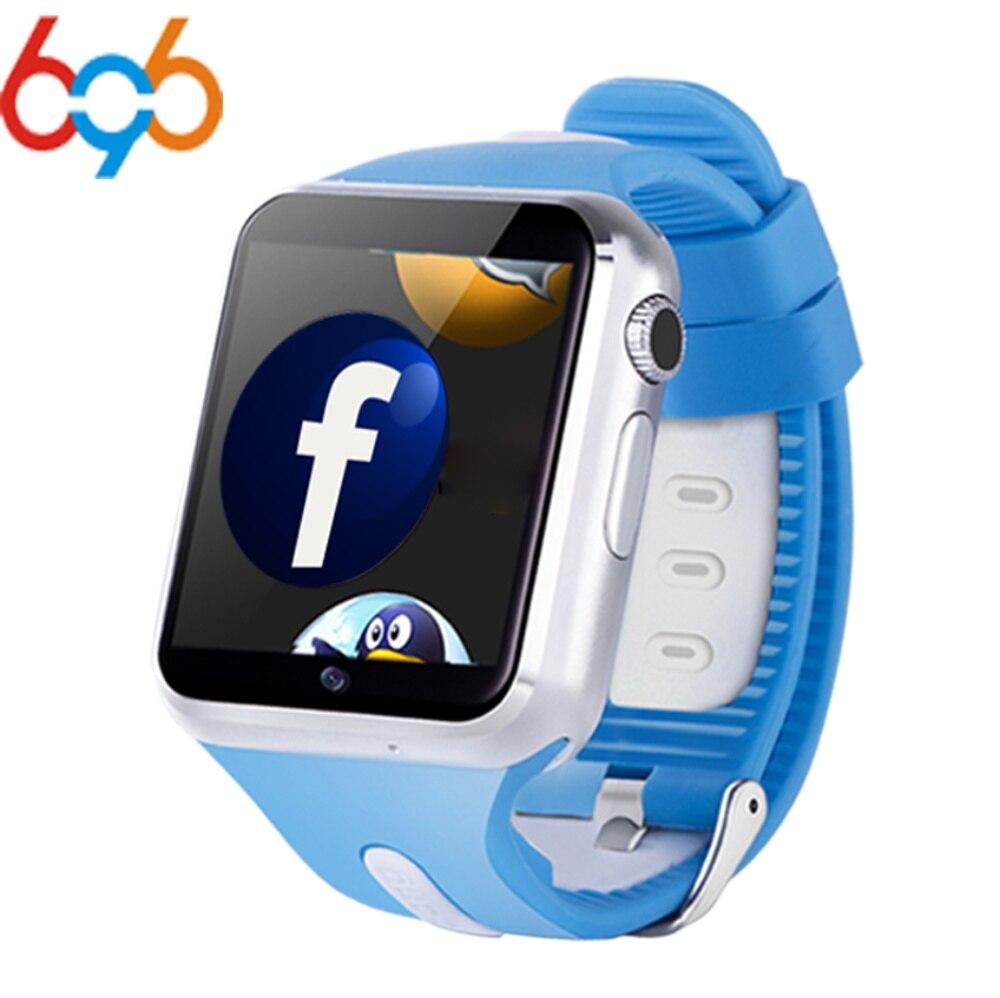 696 Smart V5W montre SIM caméra Smartwatch pour Android Smartphone écran tactile MTK6572 512 mo + 4 go de mémoire
