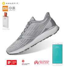 Xiaomi Mijia Amazfit Antelope Outdoor Sport Running Shoes ERC Material Rubber Support Smart Chip Sneaker for Men Women(China)