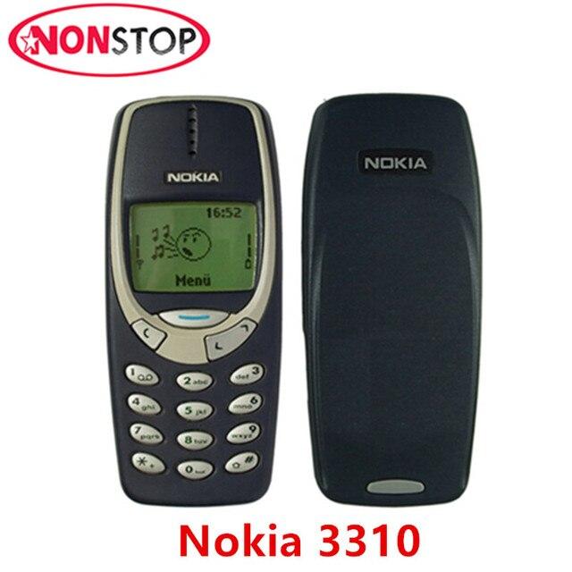 f36d599362d 3310 Original desbloqueado Nokia 3310 GSM teléfono móvil reacondicionado  buen teléfono móvil Nokia envío gratis