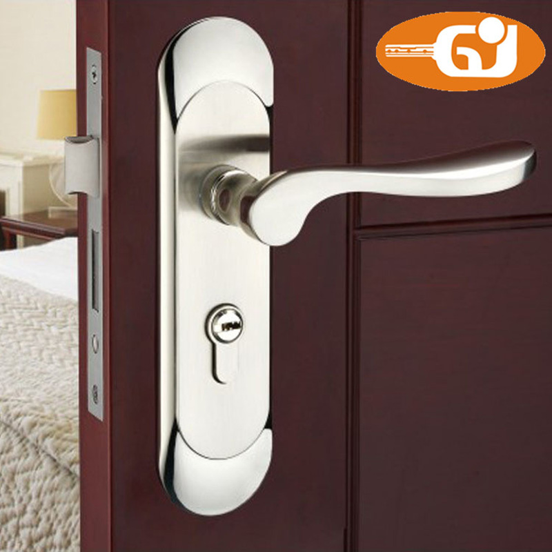 Buy stainless steel quality modern design - Door handles with locks for bedrooms ...