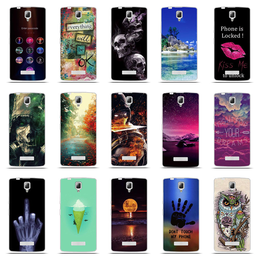 finest selection dfa76 f0359 For Lenovo A2010 Silicon Case Painted High Quality Protector TPU Back Cover  Case For Lenovo A 2010 Phone 3D Relief Cover