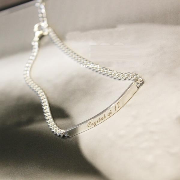 pulseras Brazalete Placa de identificación marca joyería grabado y - Maquinaría para carpintería - foto 4